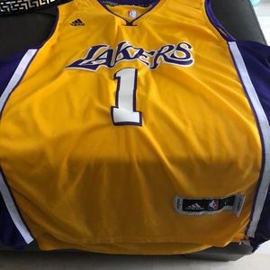 Lakers RUSSELL Basketball Jersey